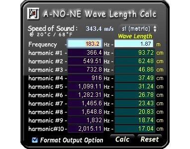 2-wave-length-calculator