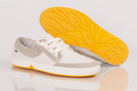 OAT shoes yellow