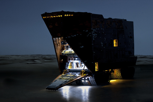 Sandcrawler Lights