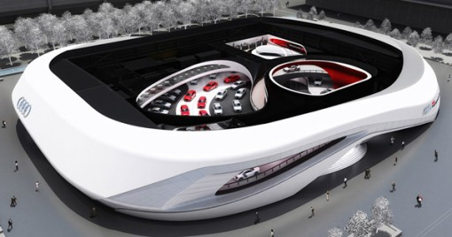 Audi IAA 2012 Birdsview South West