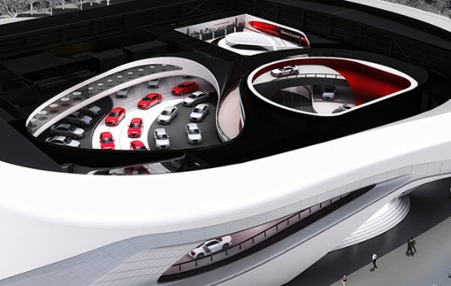 Audi Ring From the Top