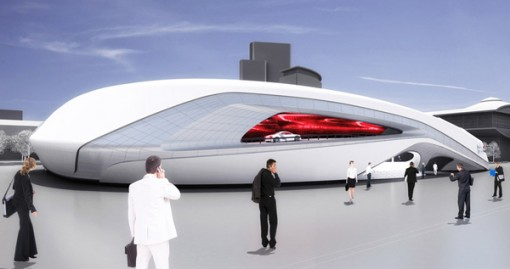 Audi IAA 2012 View South West