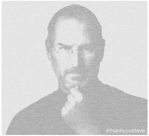 Twitter Steve Jobs Tribute