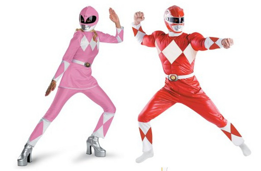 slutty power ranger costume