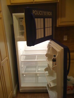Open TARDIS Fridge