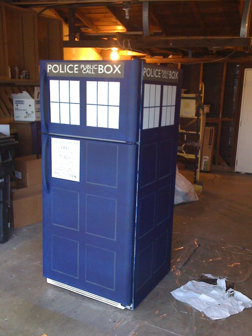 TARDIS Fridge