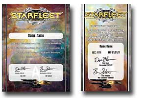 STARFLEET Membership Packet