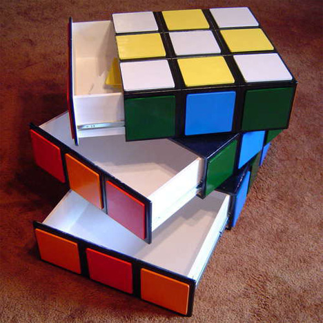 Rubik's Cube Drawers