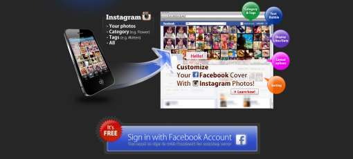 Customize Facebook Cover Photo
