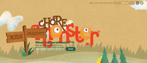 ChoreMonster Web App