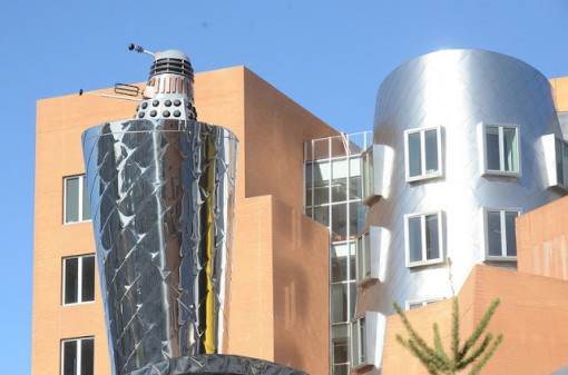 dalek MIT stata center 1