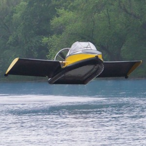 Hammacher Flying Hovercraft