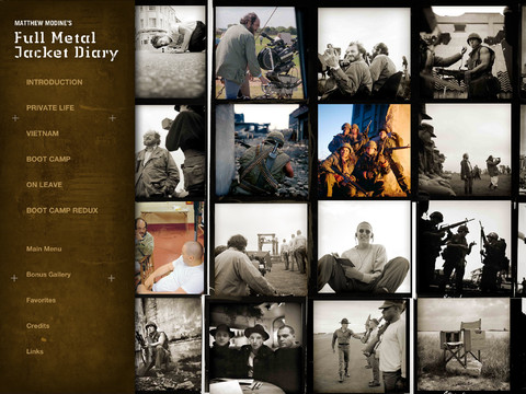 Full Metal Jacket Diary iPad App
