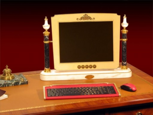 Gold-plated computer