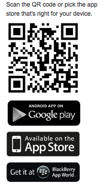 QR code for First Aid App