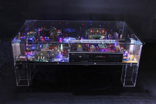 Electri-City Table by Ben Yates