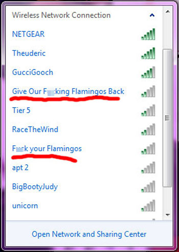 Wi-Fi Names: The Passive-Agressive, the Funny, and the Fail
