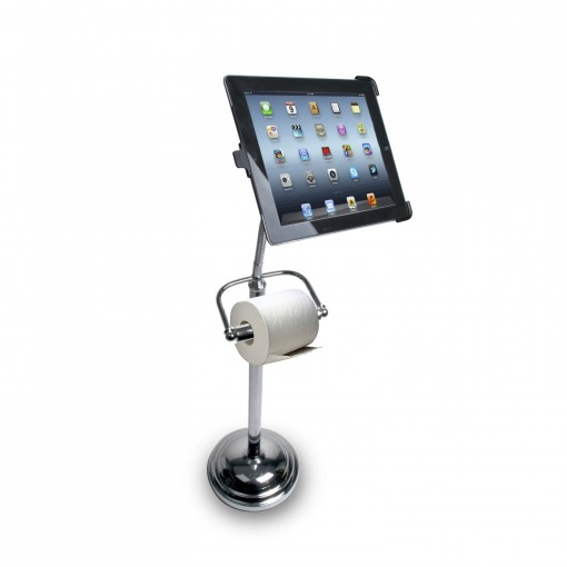 iPad stand and tissue holder