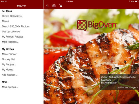 cooking apps