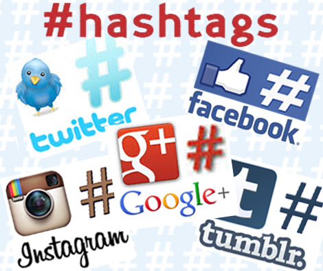 Hashtags-social-media